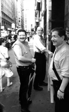 Men Near Times Square