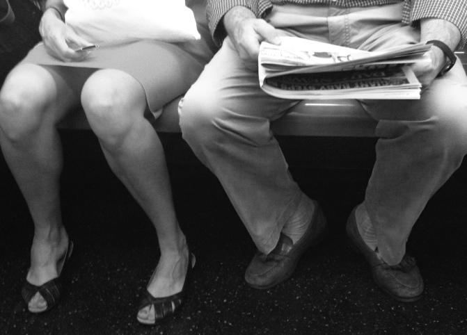 Train Legs Photo